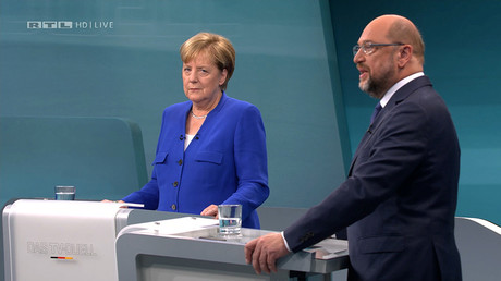 'Turkey shouldn't become an EU member': Merkel agrees with debate rival Schulz