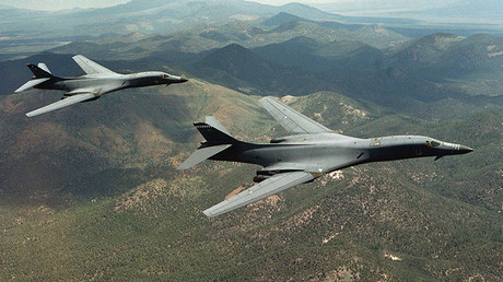 FILE PHOTO A pair of B-1B Lancer bombers © U.S. Air Force