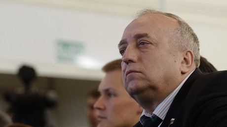 First Deputy Chairman of the Federation Council Committee for Defense and Security Frants Klintsevich. ©Iliya Pitalev