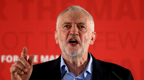 Britain's opposition Labour Party leader Jeremy Corbyn. ©Neil Hall