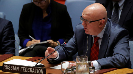 Russian Ambassador to the United Nations Vassily Nebenzia. © Andrew Kelly