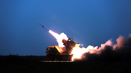 An HQ-6 air-defense missile weapons system. © Li Ming and Xie Biao / eng.chinamil.com.cn