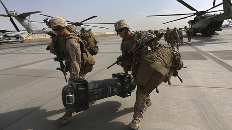 3,500 US troops headed to Afghanistan – report