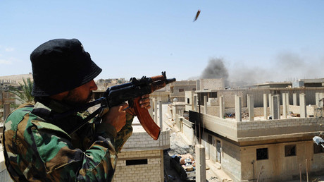 FILE PHOTO A Syrian soldier © Ammar Safarjalani / Global Look Press