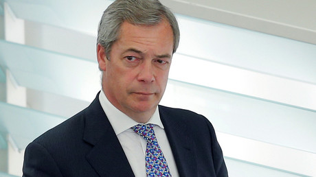 Nigel Farage © Vincent Kessler