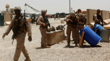 FILE PHOTO U.S. Marines in Helmand province, Afghanistan © Omar Sobhani