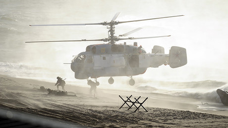 Servicemen take part in the joint war games Zapad-2013 (West-2013), Kaliningrad Region, September 26, 2013. © Alexei Druzhinin