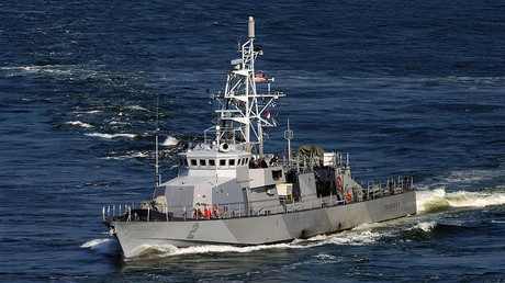 The coastal patrol craft USS Tempest (PC-2) © US Navy