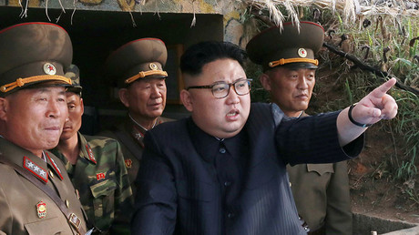 North Korean leader Kim Jong Un. © KCNA