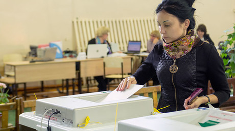 Ruling-party candidates lead election races in 16 Russian regions