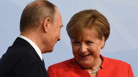 Merkel welcomes Putin's initiative on sending UN peacekeepers to Eastern Ukraine