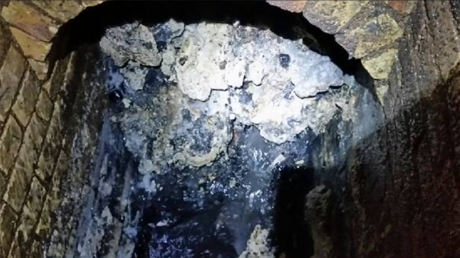 Gigantic 'fatberg' found under London, weighing same as 11 double-decker buses