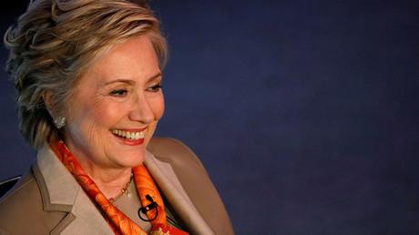 Former U.S. Secretary of State Hillary Clinton. ©Brendan McDermid