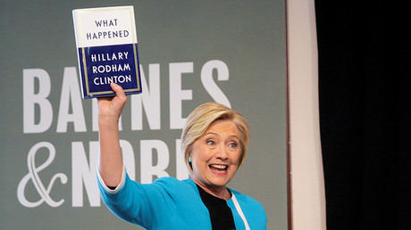 Clinton's new book removes all doubt. She still has no idea why she lost