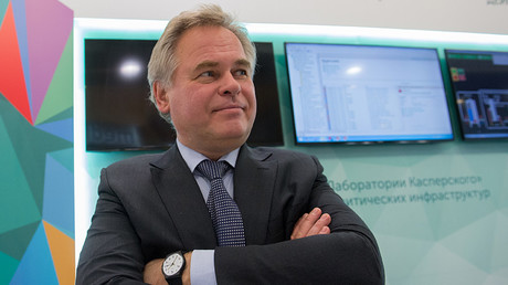 Eugene Kaspersky, co-founder of Moscow-based cyber-security company Kaspersky Lab © Sergey Guneev