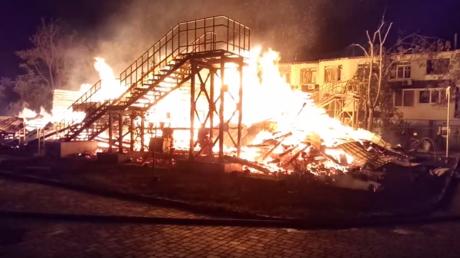 3 children killed, several injured in Odessa leisure camp blaze (VIDEOS)