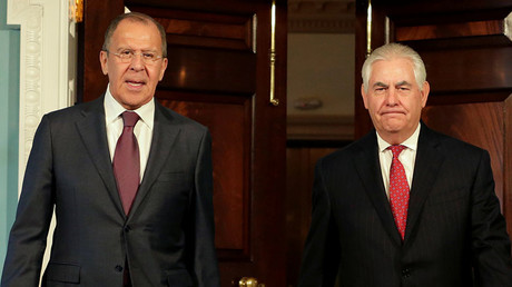 FILE PHOTO: Russian Foreign Minister Sergey Lavrov and U.S. Secretary of State Rex Tillerson. © Yuri Gripas