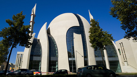 The DITIB Central Mosque of the Turkish Community in Cologne's Ehrenfeld district, western Germany © Rolf Vennenbernd / DPA / AFP
