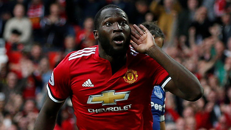 2-footed tackle: Man United fans accused of racism over Lukaku penis chant