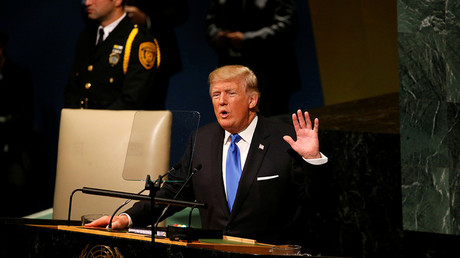 Trump's UN speech heralds end of the American empire