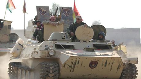 FILE PHOTO Members of Peshmerga forces © Azad Lashkari
