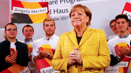 'Tyrannosaurus Rex of politics': Merkel seeking fourth term as German chancellor (VIDEO)