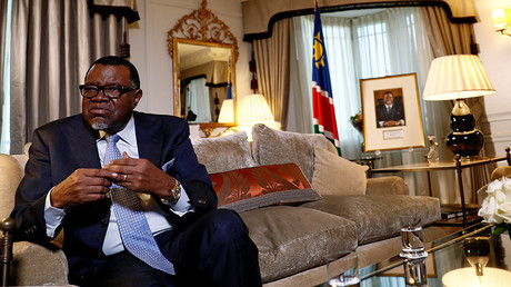 Interview with President of Namibia Hage Geingob