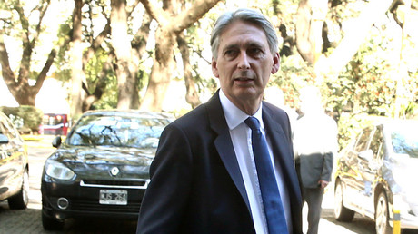 Britain's Chancellor of the Exchequer Philip Hammond © Marcos Brindicci