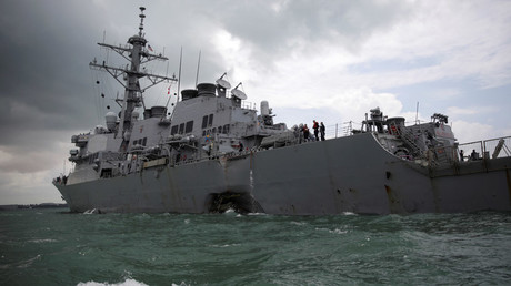 US Navy brings negligent homicide charges against Fitzgerald, McCain ex-commanders