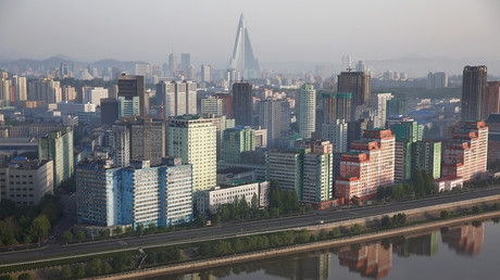 A general view shows the city of Pyongyang, North Korea © Damir Sagolj