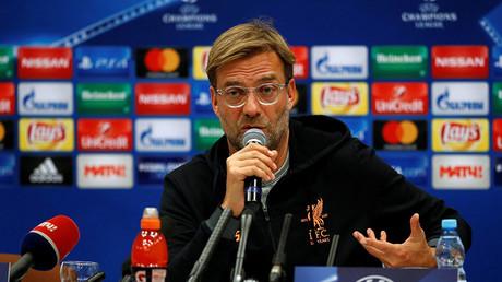 Liverpool manager Juergen Klopp. ©John Sibley