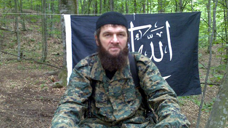 FILE PHOTO: Chechen Islamist rebel leader Doku Umarov © AFP