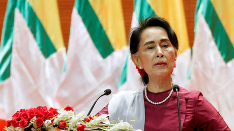 Myanmar State Counselor Aung San Suu Kyi © Soe Zeya Tun