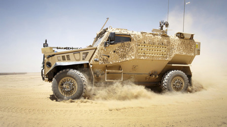 Foxhound Light Protected Patrol Vehicle © Crown copyright