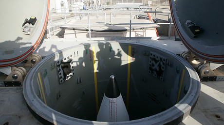 A long-rage ground-based missile silo, at the Vandenberg Air Force Base in California. © Kacper Pempel
