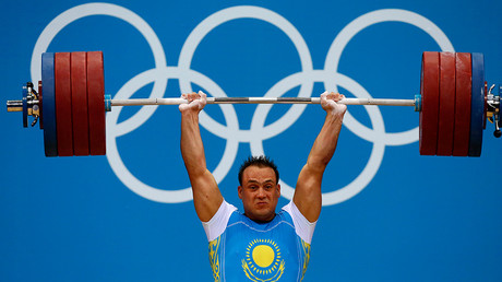 Kazakhstan's Ilya Ilyin, one of the athletes told to hand back their medals from 2008 and 2012 © Dominic Ebenbichler