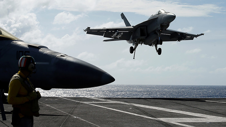 USS 'Ronald Reagan', watched by China, conducts drills as North Korea tensions flare