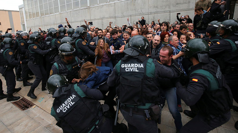 'Violence can never be an instrument in politics:' EU belatedly reacts to Catalonia crackdown