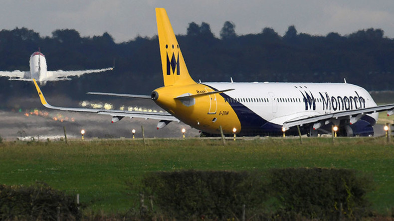 UK's Monarch Airlines goes bust, leaving hundreds of thousands of travelers in limbo