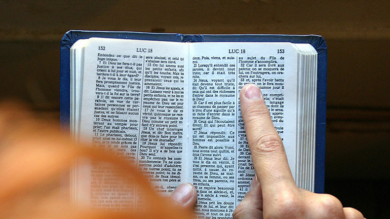 Passenger reading aloud from Bible causes panic on London rush hour train