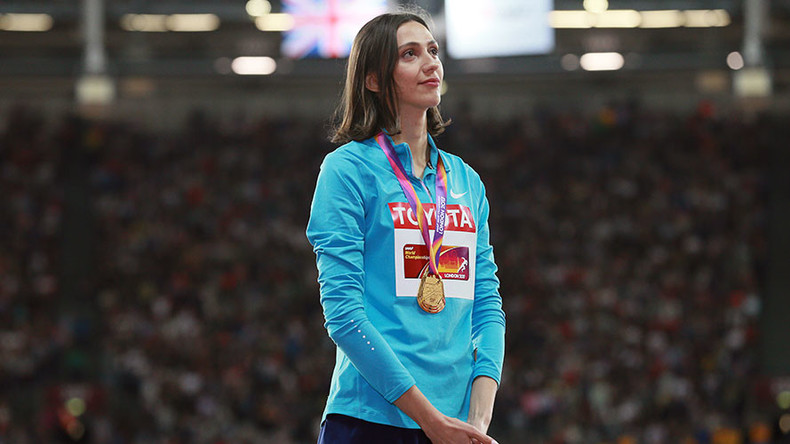 Russian high jumper nominated for IAAF 'Athlete of the Year' despite national federation ban