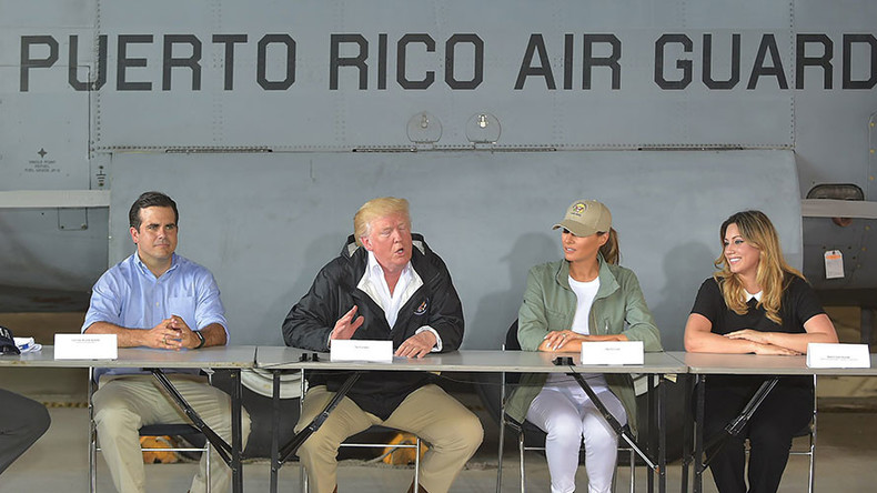 Trump says Puerto Rico's debt needs to be wiped out