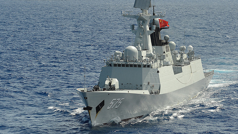 Chinese warships dock in London for 1st time amid calls for closer military ties