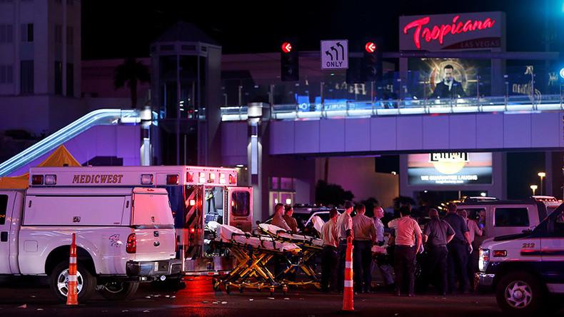 Las Vegas police bodycam reveals chaos & terror of Mandalay shooting (VIDEO)