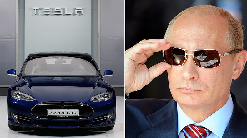 'We don't drive carts or tanks!' Putin says he can imagine himself buying Tesla car