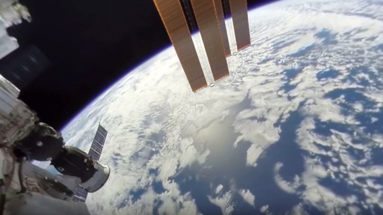 'Nice try, Earth is flat': Conspiracy theorists can't handle first ever 360 space video