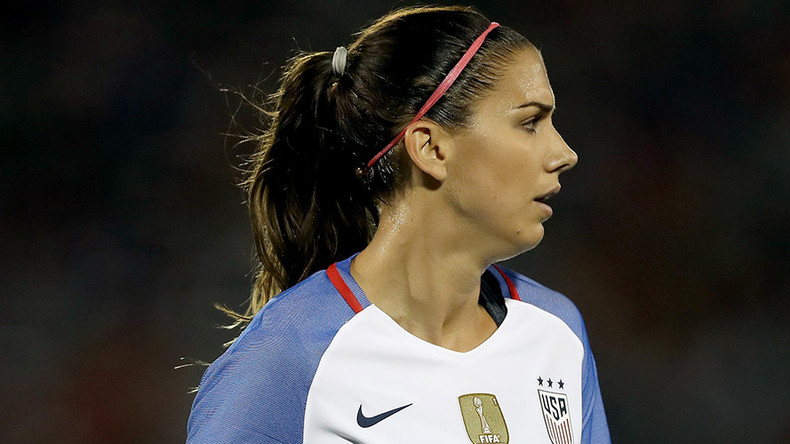 US women's soccer star Alex Morgan thrown out of Disney World after '8-hour drinking session'