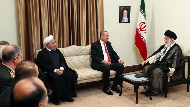 Turkish & Iranian leaders unite against Kurdish referendum, accuse Mossad of meddling