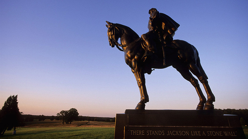 Vandals hit monument to Confederate General Stonewall Jackson in Virginia