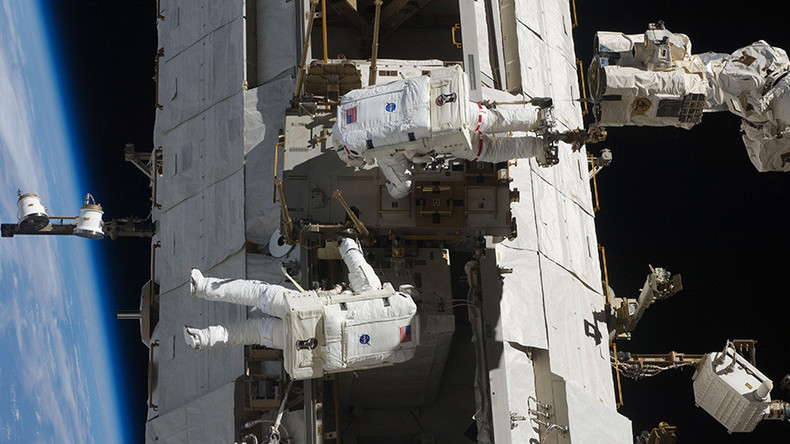 Watch astronauts repair ISS robot arm in daring spacewalk (LIVE)